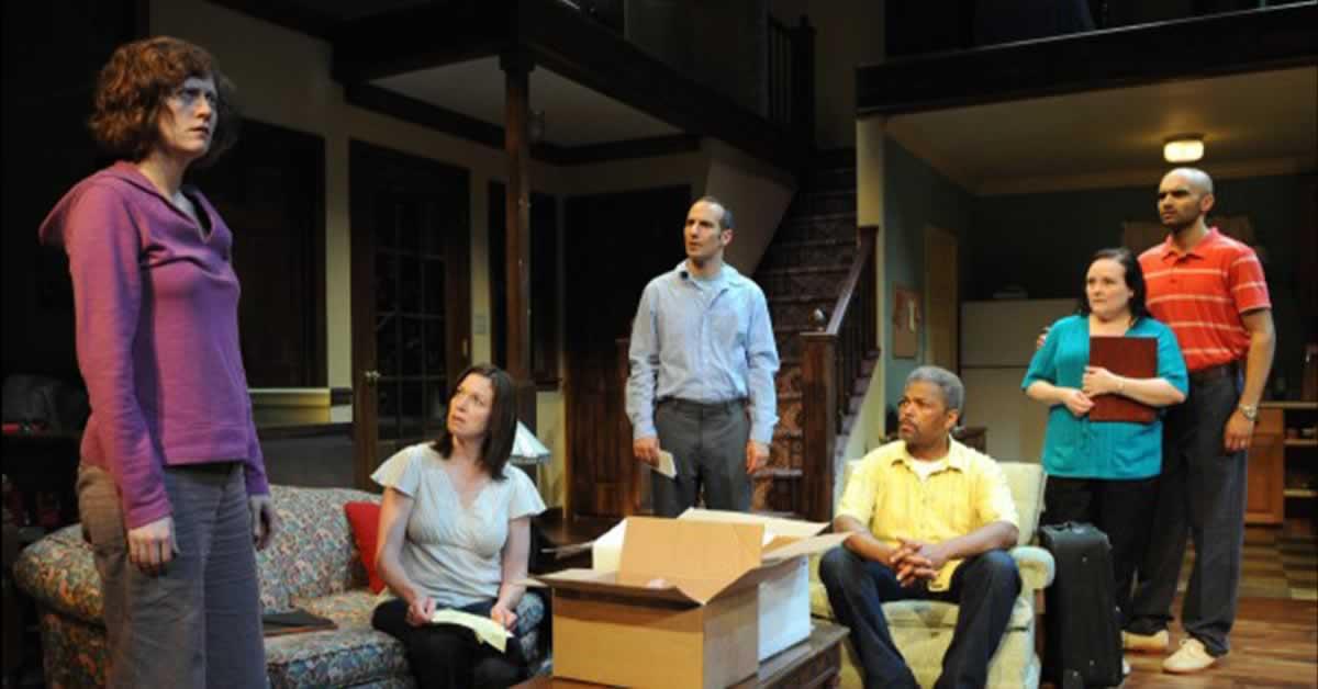 Usman Ally, Daniel Cantor, Laura T. Fisher, Wendi Weber and Dexter Zollicoffer standing