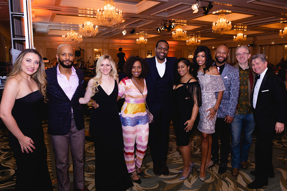 A group of attendees at the 2019 Chicago Stories Gala